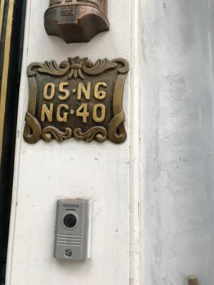 Bảng số nhà mẫu 002