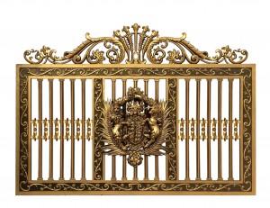 Hàng rào nhôm đúc mẫu 008